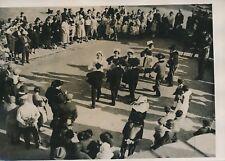 VIGNEUX c. 1930 - Danseurs Coiffes Costumes Noces Bretonnes Essonne - PRM 365