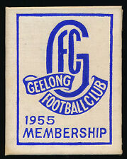 1955 Geelong Football Club Membership Season Ticket Cats r
