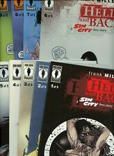 Frank Miller's Sin City: Hell and Back 1,2,3,4,5,6,7,8,9 (1999-2000 Dhc) ^9 Bks^
