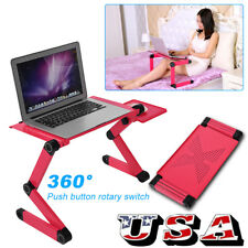 360° Adjustable Foldable Laptop Lap Notebook Desk Table Stand Portable Bed Tray