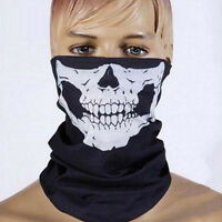 3PCs Face Mask Bicycle Ski Skull Ghost Scarf Neck Warmer Motorcycle Snowboarding