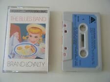 THE BLUES BAND BRAND LOYALTY CASSETTE TAPE 1982 BLUE PAPER LABEL ARISTA