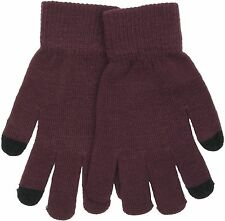 RJM Ladies Knitted Touch Screen Phone Gloves