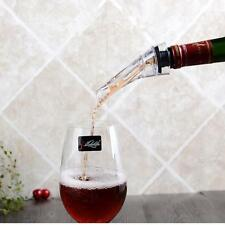 Wine Aerator Quick Magic Pourer Spout Acrylic Whiskey Bottle Decanter Bar Tools