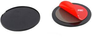 Fixation Autocollante pour Support de Téléphone et GPS à Ventouse x 2 pcs  70 mm