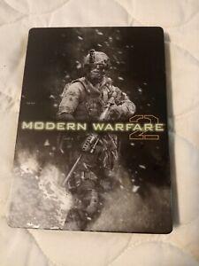 Call of Duty: Modern Warfare 2 COD Hardened Edition Steel Book Manual Sleeve Tin