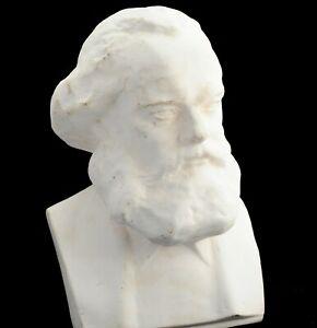 Vintage BUST Statue Karl Marx communist leader soviet russian USSR