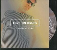 LOVE ON DRUGS I Think I'm Alone Now PROMO CD ALBUM SWEDISH ##