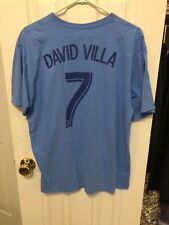 David Villa NYCFC Adidas New York City Football Club Shirt Size XL