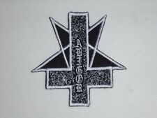 ABIGOR BLACK METAL IRON ON EMBROIDERED PATCH