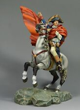 90mm handpainted metal figure  Napoleon Crossing Apes figure with horse