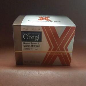 ROHTO Obagi Derma Power X Stem Lift Cream 50g Collagen Elastin Japan Import F/S