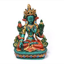 6 Inch Resin Made White Tara Statue Craft from Nepal