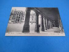 Château de Blois Loire Valley France Vintage Unused B&W Postcard PC36