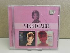 VICKI CARR- Discovery Vol.1 & 2 CD (2003 Stereo 2on1) Classic LPs on CD