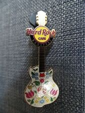 Hard Rock Cafe Budapest Pin Embroidery Guitar pin