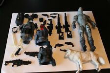 1:12 custom parts lot - GI Joe classified firefly and trooper parts = Schleich w