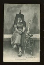France Social History Cottage Industry SPINNING Bressane ancienne Lace 1900s PPC