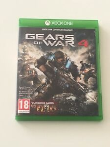 Gears of War 4 Microsoft Xbox One Standard Edition 18+ Years