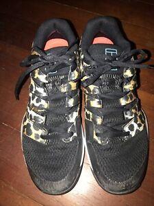 Nike Air Zoom Vapor X Black White AA8027-701 Girls Women's Trainer -Size 9.5