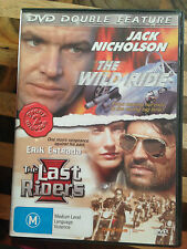 DOUBLE FEATURE *THE WILD RIDE & THE LAST RIDERS  *USED DVD *(E)