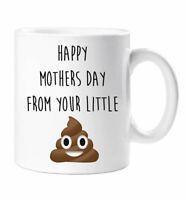 Mum Mug Happy Mothers Day Love Your Little Sh*t Gift Present Birthday Christmas