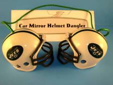 NEW YORK JETS CAR MIRROR NFL FOOTBALL HELMET DANGLER - HANG FROM ANYTHING!