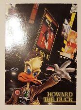 1997 Marvel Premium QFX Trading Cards PROMO Howard the Duck Fleer Skybox
