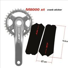 M8000 Xt Crank Sticker Tooth Plate Protection Cover Cycling Bicycle Decals
