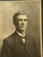 Antique Photograph Man Middle Age Cabinet Photo Studio 26653