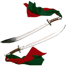 Double Broadsword Die-Cast Aluminum Kung Fu Wushu Martial Arts Blade Weapon