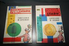 vintage Stabo Baukasten 350 Elektrotechnik & 360 Funktechnik im Experiment