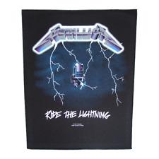 Metallica official Backpatch RIDE THE LIGHTNING PARCHE DE ESPALDA U. S.