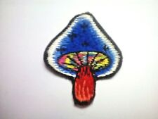 Cute Colourful Magic Mushroom Iron on Sew on Embroidered Patch applique #1674