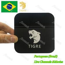 2018 Newest TIGRE Well as HTV5  Brazilian  4K IPTV Internet Live Brazil TV Box