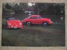 Porsche 356 Speedster & Notchback Poster, Print, Picture RARE!! Awesome L@@K