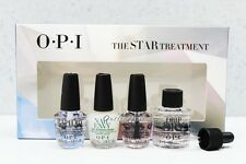 OPI THE STAR 4 Mini TREATMENTS: RapidDry Top Coat, Nail Envy, Chip Skip, DripDry