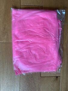Haian PVC Jogging Suit Sauna Top. Huge 2XL Size. Transparent Pink Plastic.