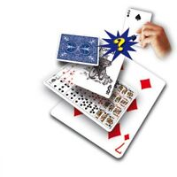 Magician's Card Prediction Mentalism Audience Stage Comedy Close-Up Magic Trick
