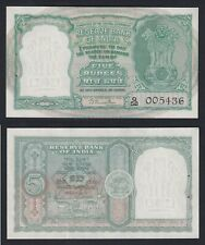 New listing India 5 Rupees 1949 (57) Fds / Unc C-10