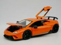 LAMBORGHINI HURACÁN PERFORMANTE RARE 1:24 SCALE DIORAMA DIECAST MODEL CAR