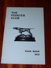 More details for rare pointer club yearbook 1972 dog book illustrated gundog