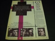 The Complexities Of SIMPLE MINDS original 1983 Promo Poster Ad