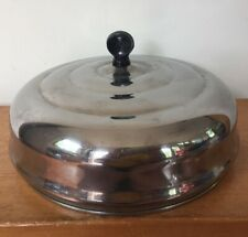 Vintage Farberware Cookware Stainless Beehive Replacement Dome Pot Pan Lid 10""