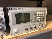 Agilent 86060B 1x4 Lightwave Switch 1280 to 1650nm 9/125um Opts 01/12/50/109/204
