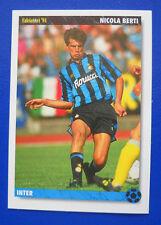 CARD CALCIATORI '94 JOKER - N. 98 - NICOLA BERTI - INTER - new