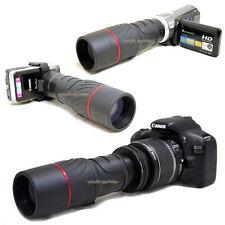 VK 10x 42 1000mm Digiscoping Telescope for Nikon Digital D3300 AF-s DX 18-55mm