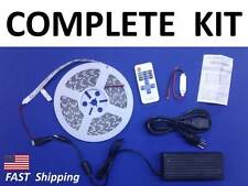 LED --- COMPLETE Kit --- 5m 16ft SMD 5050 --- Roll of Lights ---- -ANY COlor...!