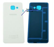 Samsung A5 2016 SM-A510F Akkudeckel Backcover  Rückseite aus Glas  Weiß