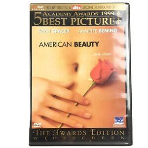American Beauty DVD 1999 Oscar Winner w/ Kevin Spacey Region 1 DTS